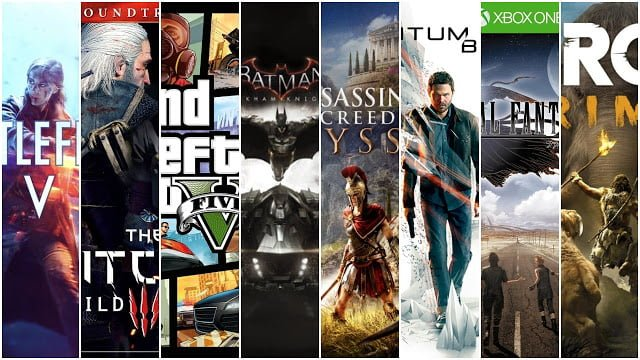 Top 10 PC Games for 2GB Graphics card 8GB RAM